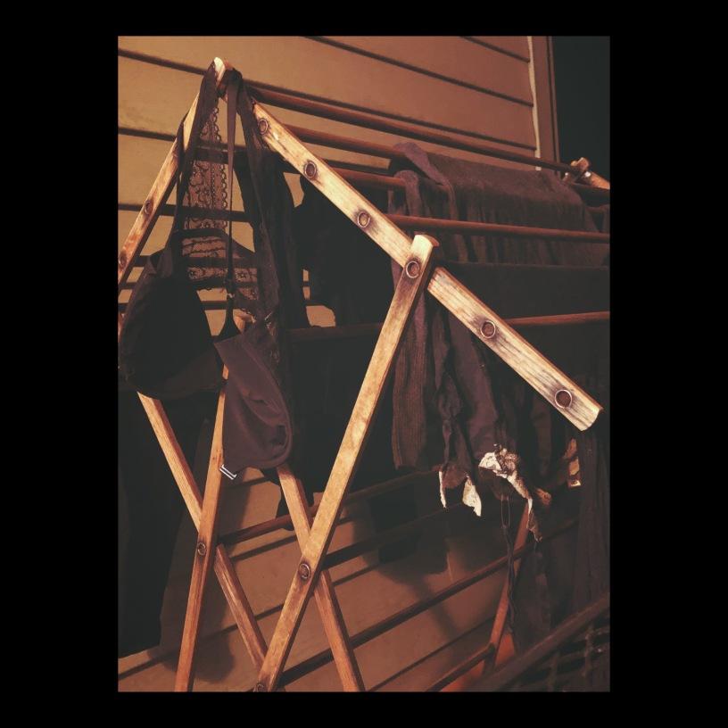 lingerie rack