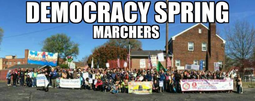 Democracy Spring Marchers