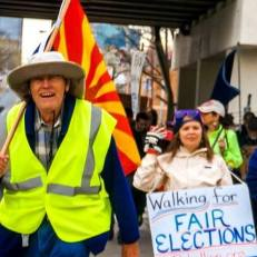 MArching for Fair Elections